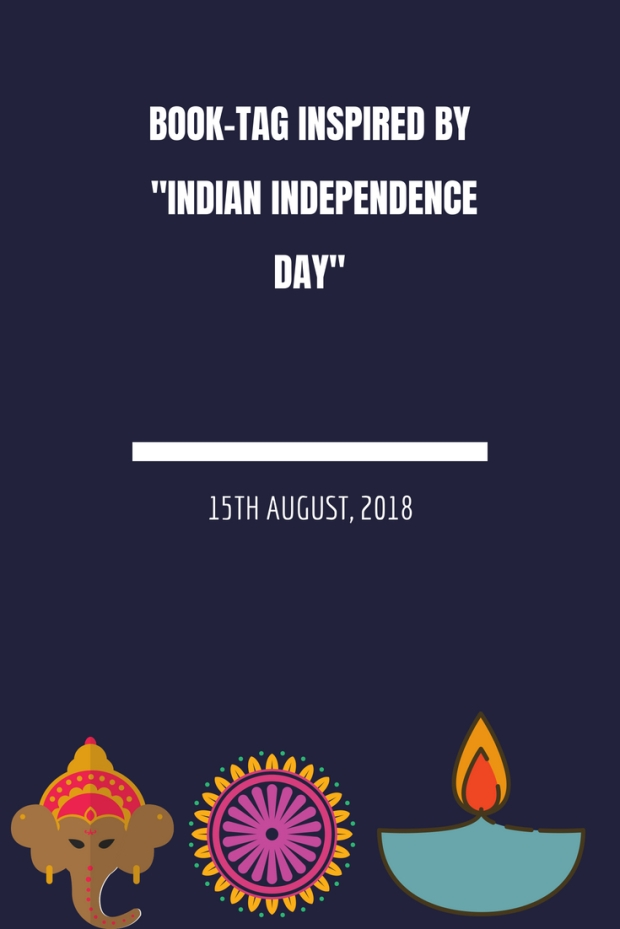 book tag inspired by Indian Independence Day