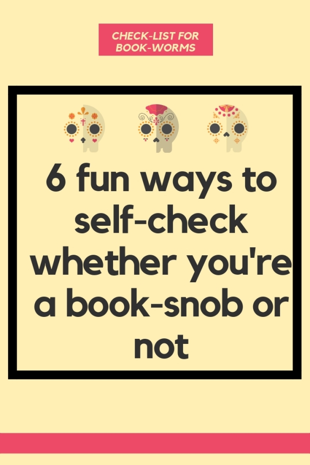 Fun ways to check you're a book-snob or not